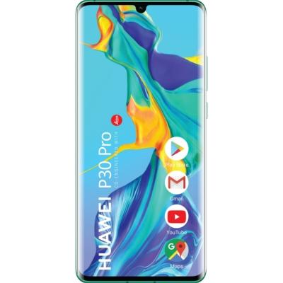 Huawei P30 Pro Használt Mobiltelefon, Kártyafüggetlen, Dual Sim, 6GB/128GB, Aurora Blue (kék)