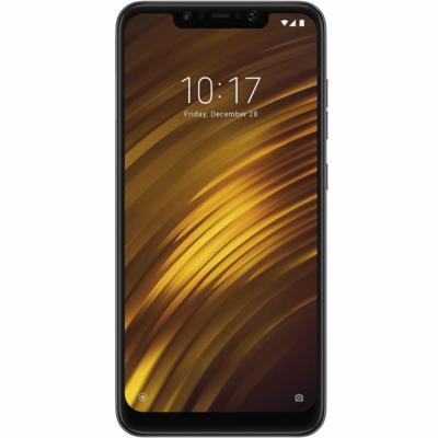 Xiaomi Pocophone F1 Mobiltelefon, Kártyafüggetlen, Dual Sim, 6GB/128GB, Graphite Black (fekete)