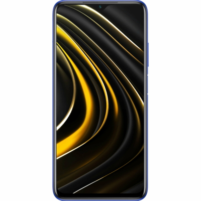 Poco M3 Mobiltelefon, Kártyafüggetlen, Dual Sim, 4GB/64GB, Cool Blue (kék)