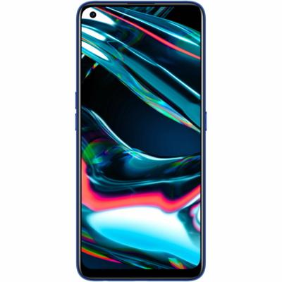 Realme 7 Pro Mobiltelefon, Kártyafüggetlen, Dual Sim, 128GB, Kék
