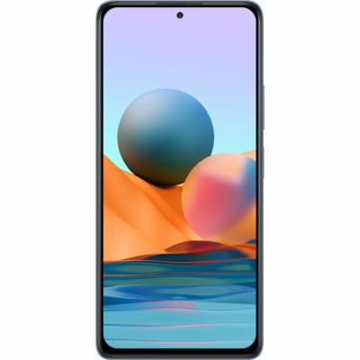 Xiaomi Redmi Note 10 Pro Mobiltelefon, Kártyafüggetlen, Dual Sim, 6GB/64GB, Glacier Blue (kék)