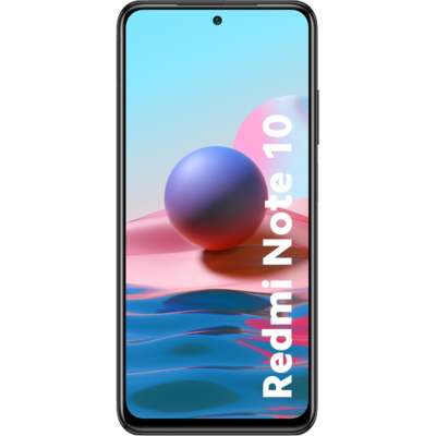 Xiaomi Redmi Note 10 Mobiltelefon, Kártyafüggetlen, Dual Sim, 4GB/128GB, Onyx Gray (szürke)