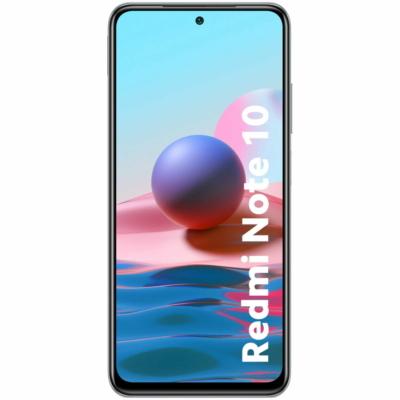 Xiaomi Redmi Note 10 Mobiltelefon, Kártyafüggetlen, Dual Sim, 4/64GB, Pebble White (fehér)