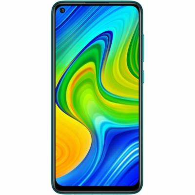 Xiaomi Redmi Note 9 Mobiltelefon, Kártyafüggetlen, Dual Sim, 3GB/64GB, Forest Green (zöld)