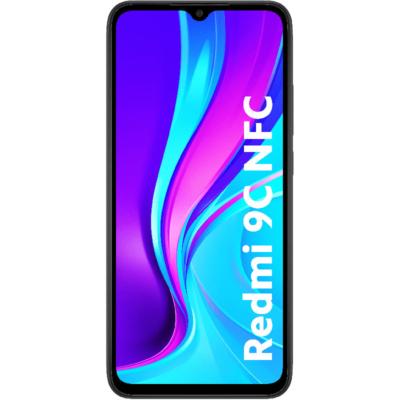 Xiaomi Redmi 9C NFC Mobiltelefon, Kártyafüggetlen, Dual Sim, 32GB, Szürke