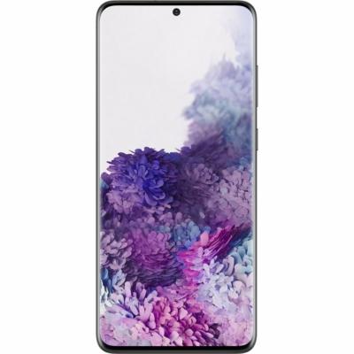 Samsung Galaxy S20+ Mobiltelefon, Kártyafüggetlen, Dual Sim, 128GB, Fekete