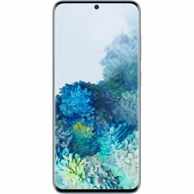 Samsung Galaxy S20 Mobiltelefon, Kártyafüggetlen, Dual Sim, 8GB/128GB, Cloud Blue (kék)