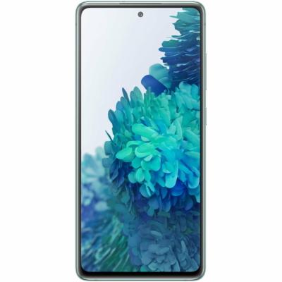 Samsung Galaxy S20FE Mobiltelefon, Kártyafüggetlen, Dual Sim, 128GB, Zöld