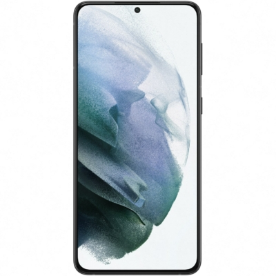 Samsung Galaxy S21+ Mobiltelefon, Kártyafüggetlen, Dual Sim, 8GB/256GB, Phantom Black (fekete)