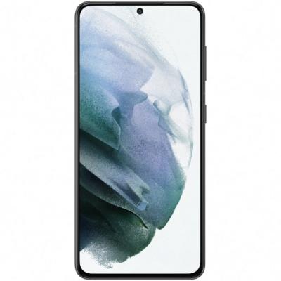 Samsung Galaxy S21 5G Használt Mobiltelefon, Kártyafüggetlen, Dual Sim, 8GB/128GB, Phantom Gray (szürke)