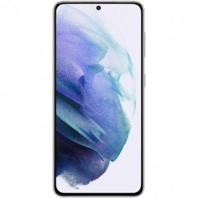 Samsung Galaxy S21 5G Mobiltelefon, Kártyafüggetlen, Dual Sim, 8GB/128GB, Phantom White (fehér)