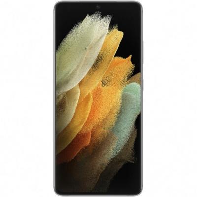 Samsung Galaxy S21 Ultra 5G, Mobiltelefon, Kártyafüggetlen, Dual Sim, 12GB/128GB, Phantom Silver (ezüst)