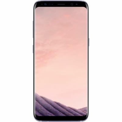 Samsung Galaxy S8 Használt Mobiltelefon, Kártyafüggetlen, Dual Sim, 4GB/64GB, Arctic Silver (ezüst)